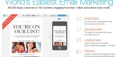 All-in-one solution for Email Marketing- GetResponse Review