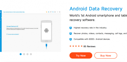 Wondershare Dr. fone for Android Review