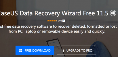 The Easy Way of Recovering Data using EaseUS Data Recovery Software