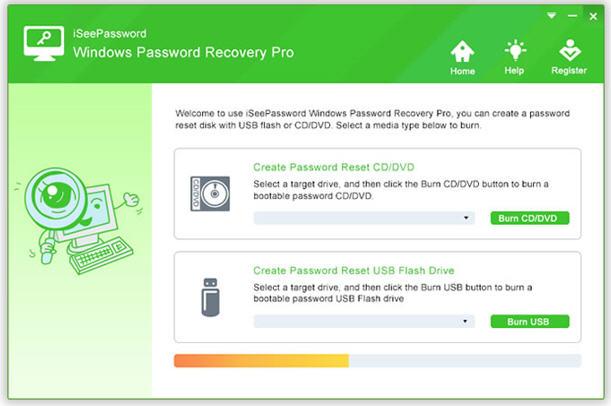 iSeePassword Windows Password Recovery Pro